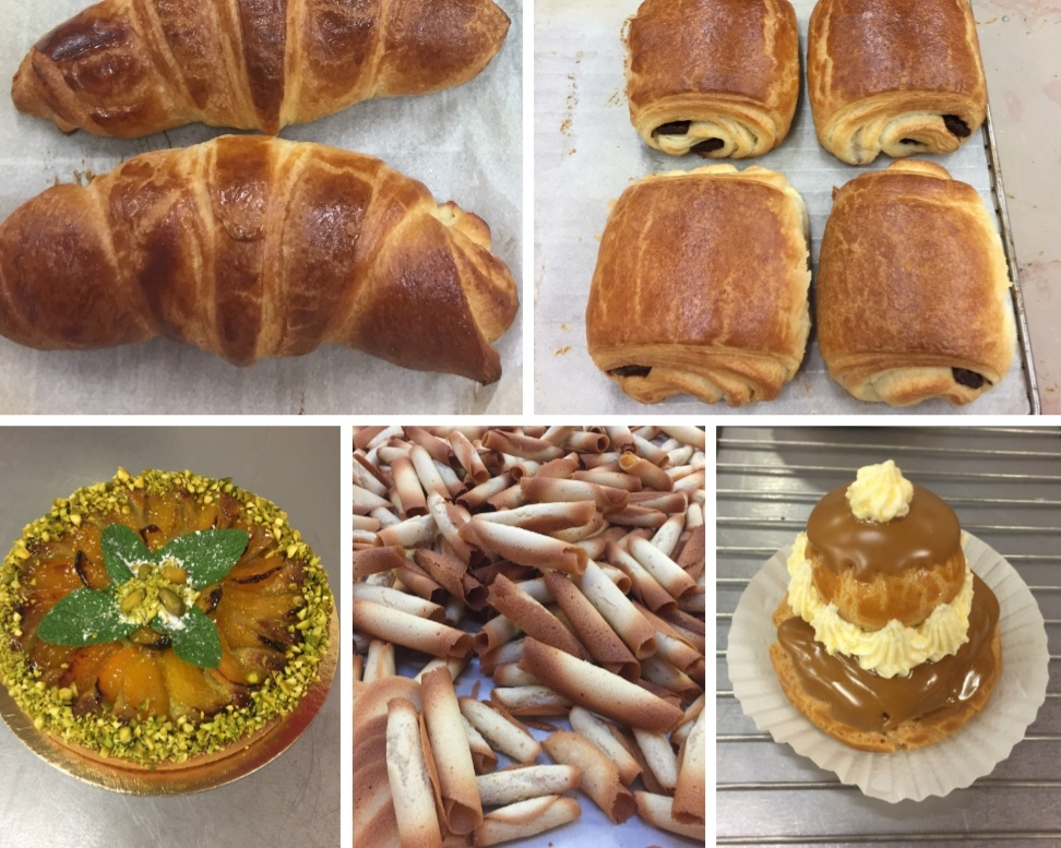 recette cap p tissier semaine 5 croissant pain au. Black Bedroom Furniture Sets. Home Design Ideas